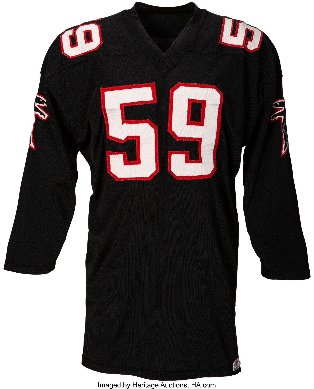 Circa 1966 Atlanta Falcons Game Worn Jersey Football Lot Atlanta Falcons Game Game Wear Atlanta Falcons