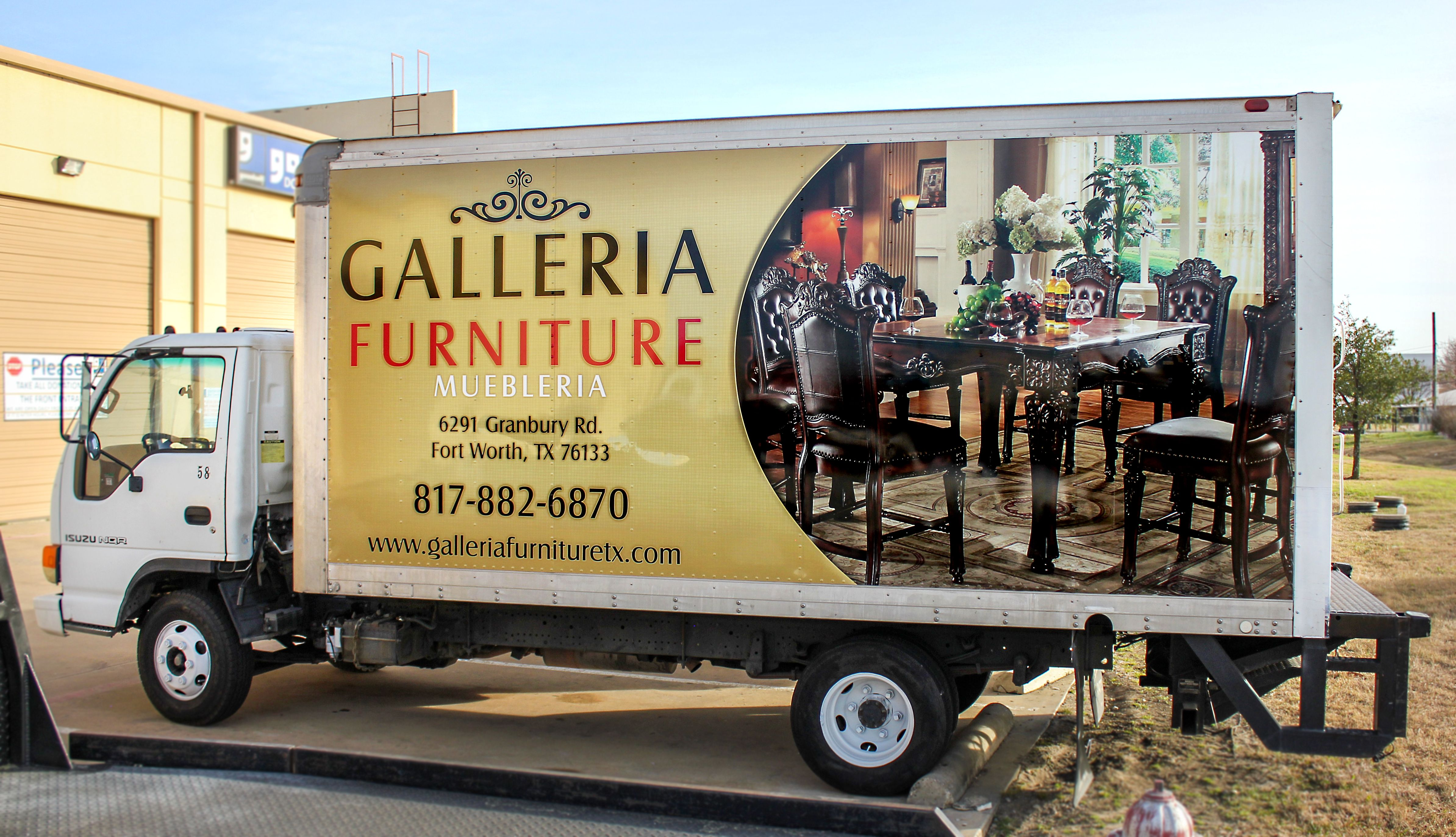 Hey Everyone Check Out One Our Recent Box Trucks We Wrapped For  # Muebles Rangel Guanajuato