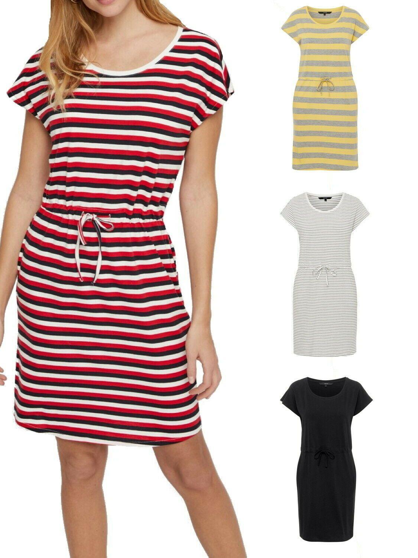 Kleider XL Only Damen kurzes schwarzes Jersey-Kleid ...