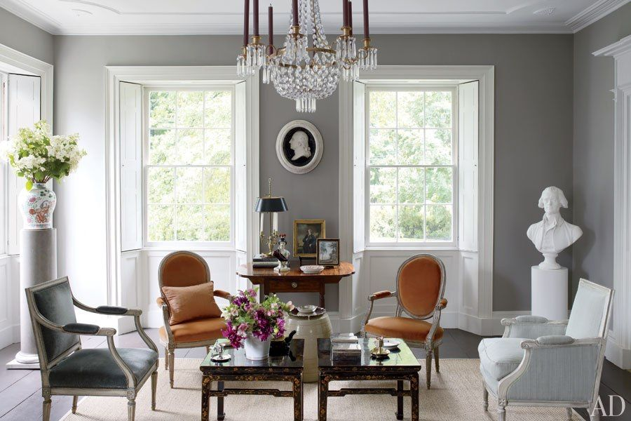Tour Bruce Shostak\'s Federal-Style Home | Pinterest | Country houses ...