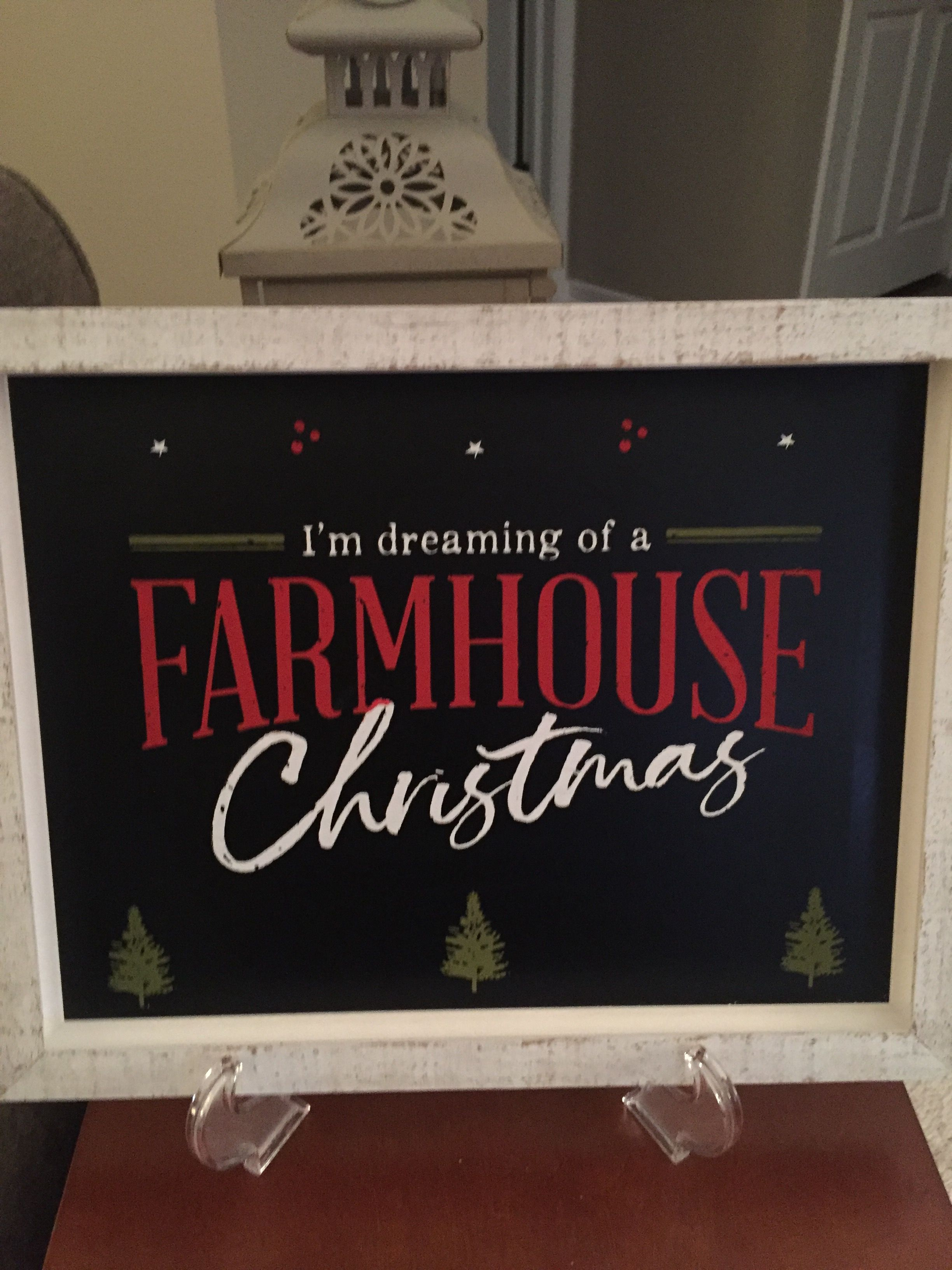 Chalk Couture Farmhouse Christmas Chalk Today Holiday Novelty Sign