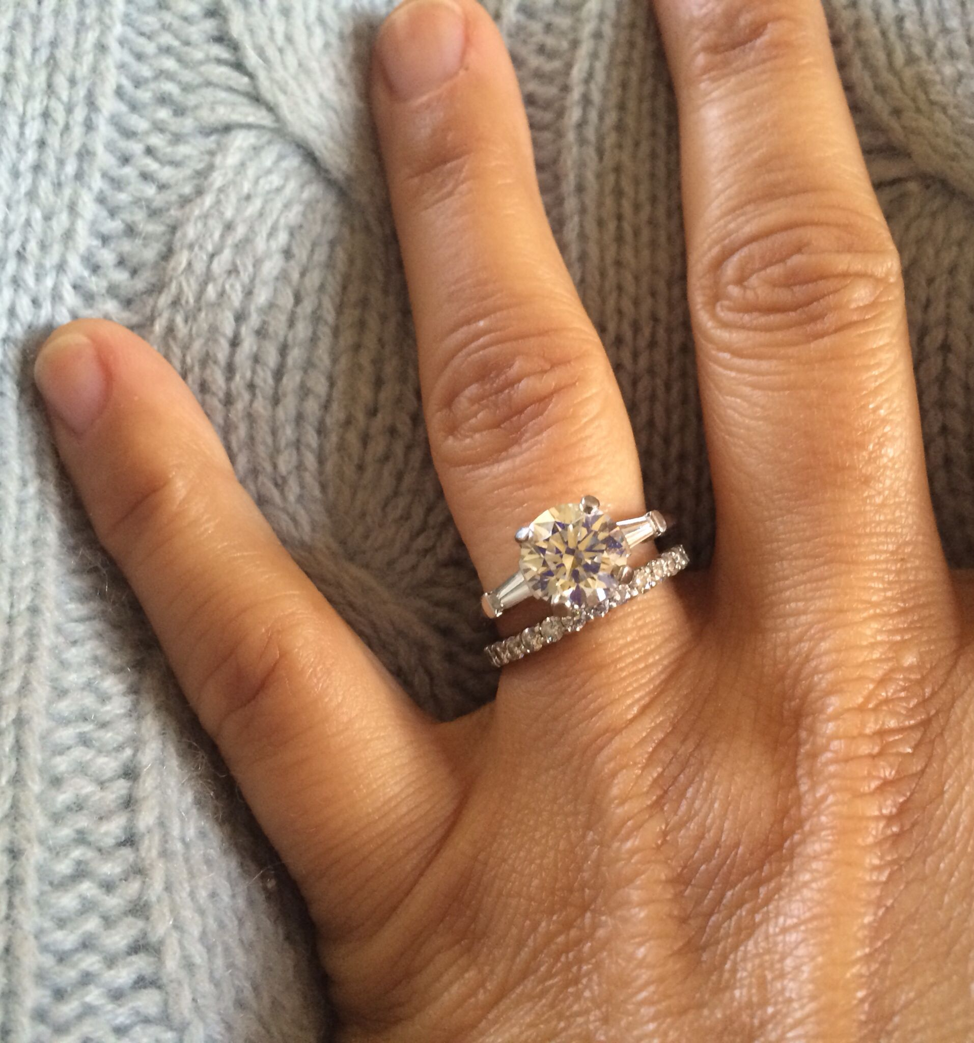 My new ring. Happy 18th anniversary to moi! Happy 18th