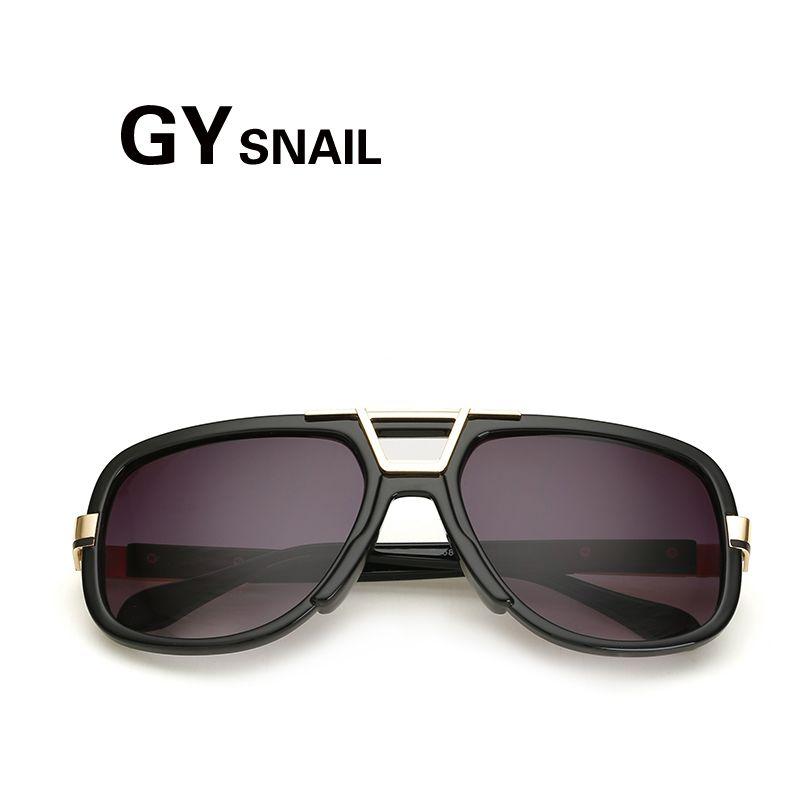 GY SNAIL FASHION oversized rectangle sunglasses women Brand Designer goggle  sun glasses men driving Shades Mirror oculos uv400  Affiliate 72e14afd4361