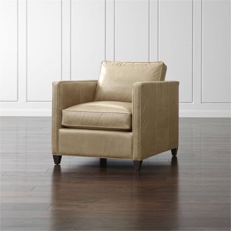 Moderno Círculo De Cuero Muebles Otomana Embellecimiento - Muebles ...