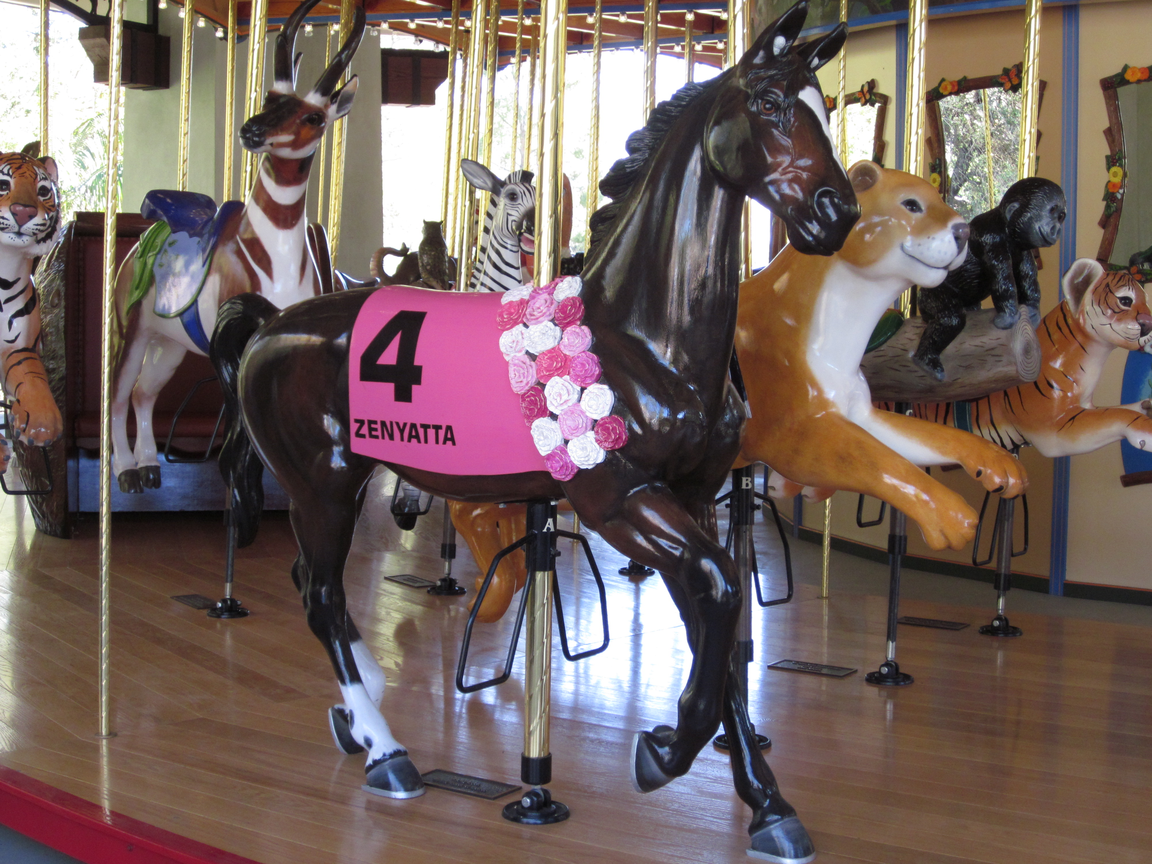 160 best carousel horses images on pinterest carousel horses ann and jerry moss owners of the real racehorse zenyatta donated money to build a new carousel at the la zoo and included carousel horse portraits of 3 geotapseo Images