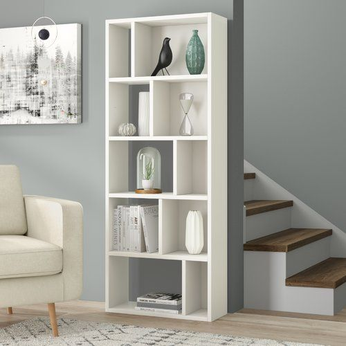 Hashtag Home Aadvik Bookcase In 2020 Home Office Design