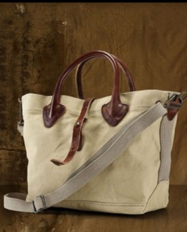 Canvas Shoulder Bag, Canvas Leather, Ralph Lauren, Canvases, Amp, Portfolios 4f6fab095a