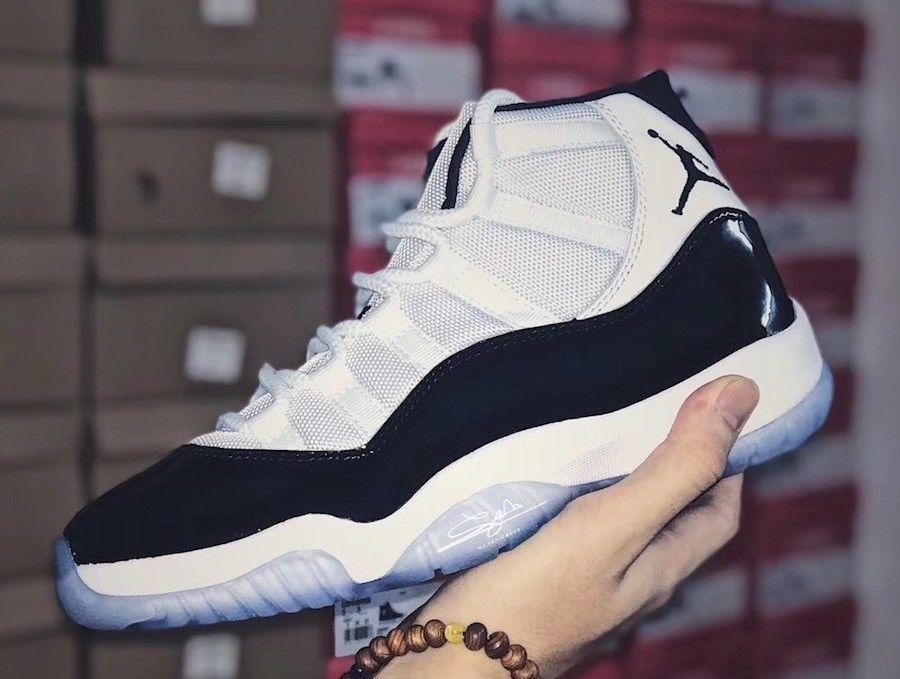 3b8d36c002cebd Air Jordan Retro 11 XI Concord 2018 White Black 378037-100 Authentic   fashion  clothing  shoes  accessories  mensshoes  athleticshoes (ebay link)
