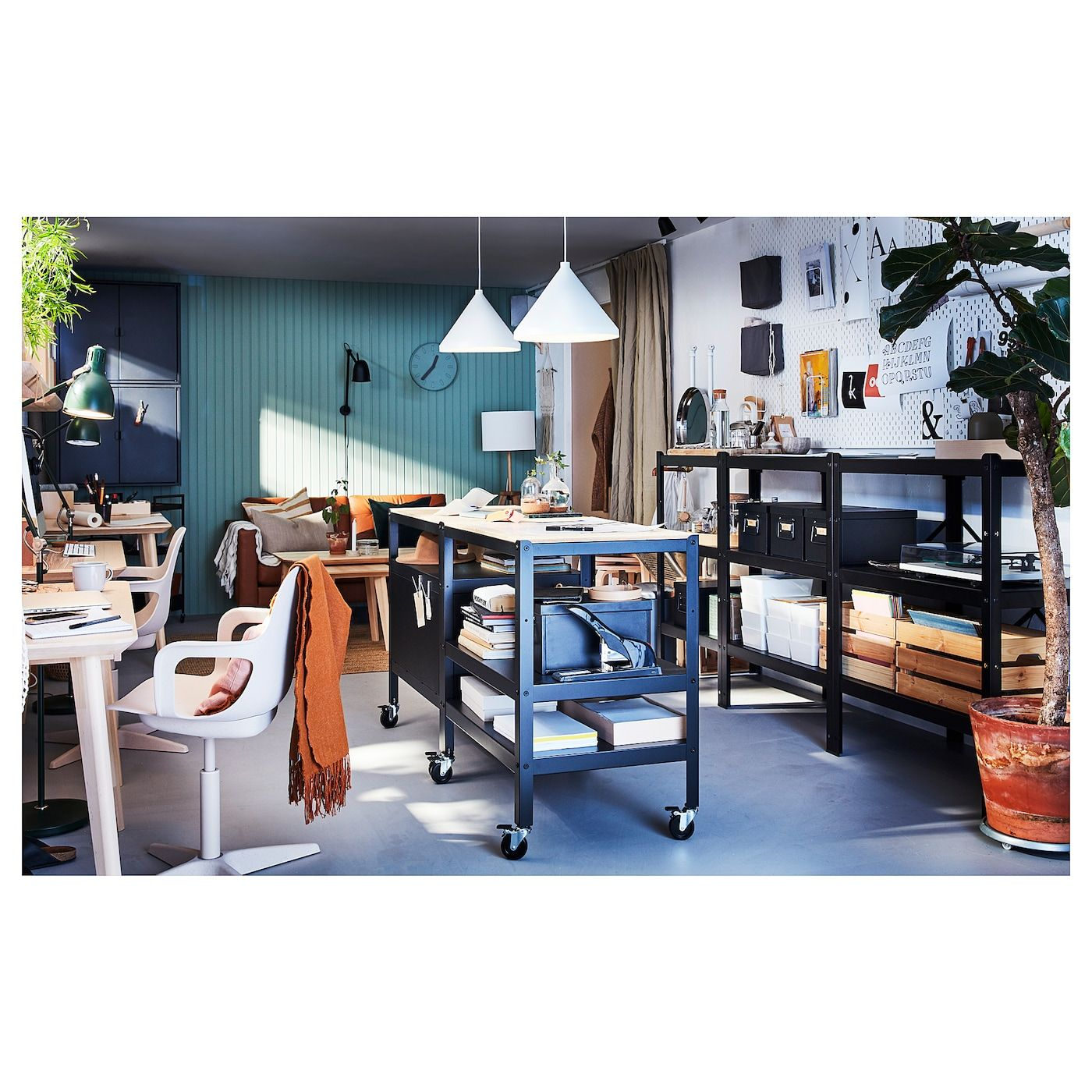 Ikea odger swivel chair whitebeige in 2020 home