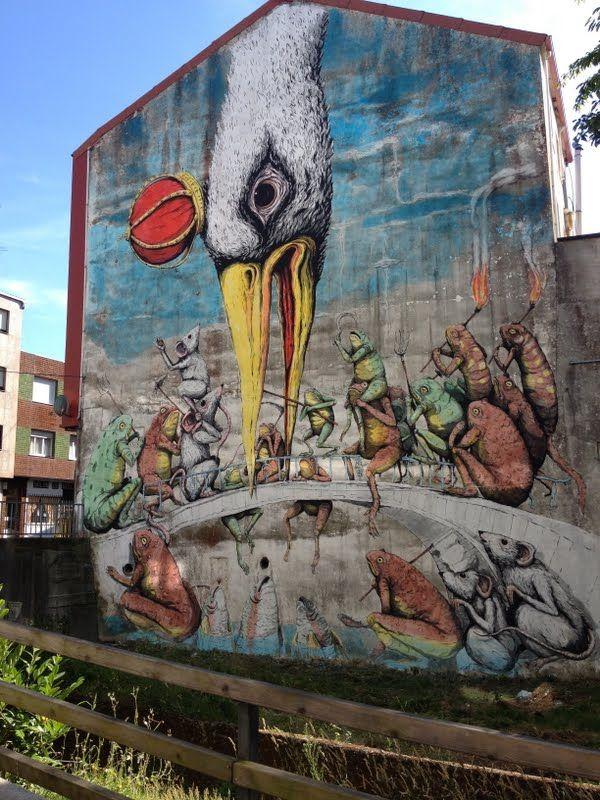 Ericailcane street art
