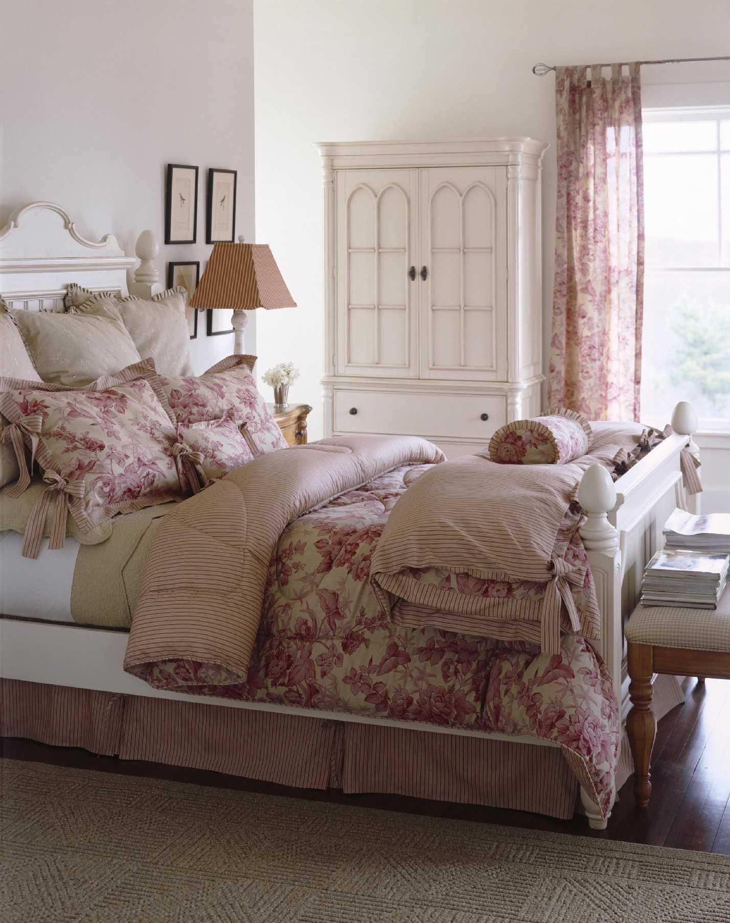 Part of my \'romantic\' collection, my clementine bedding goes ...