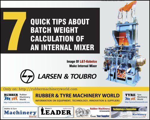 Rubber&TyreMachinery (@rubbermachineri)   Twitter