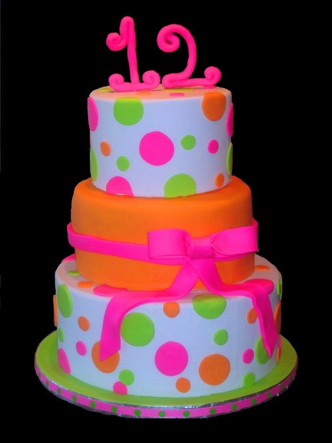birthdaycakesforgirls12thbirthdayjpeg cakes Pinterest
