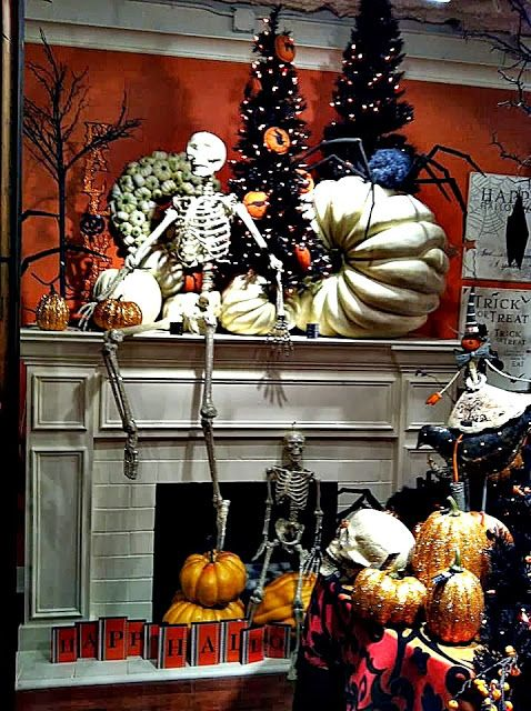 The Domestic Curator 110 Awesome Halloween Decorating Ideas For - fall halloween decorating ideas