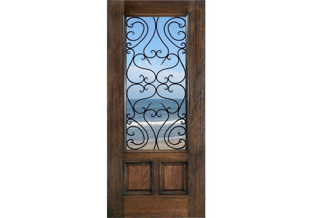 Tuscany Mahogany Tuscany 1 3 4 Exterior Entry Doors Wood Front Entry Doors Solid Wood Front Entry Doors Entry Doors With Glass