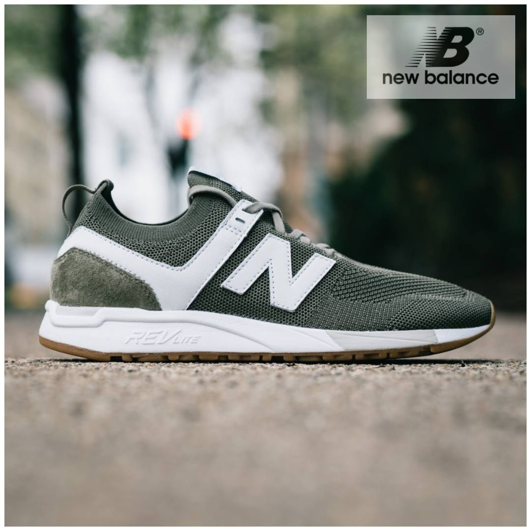Since It S Introduction Last Year The New Balance 247 Has Only Evolved To Get Better And Better 90 Prevent Swamp Foot New Balance Olive Sneakers Sneakers