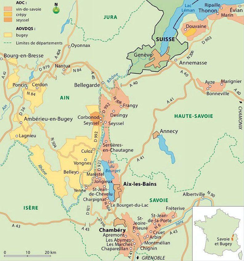 Vins Savoie Apremont Roussette Ayze Seyssel Vin De Savoie Carte Des Vins Vin De France