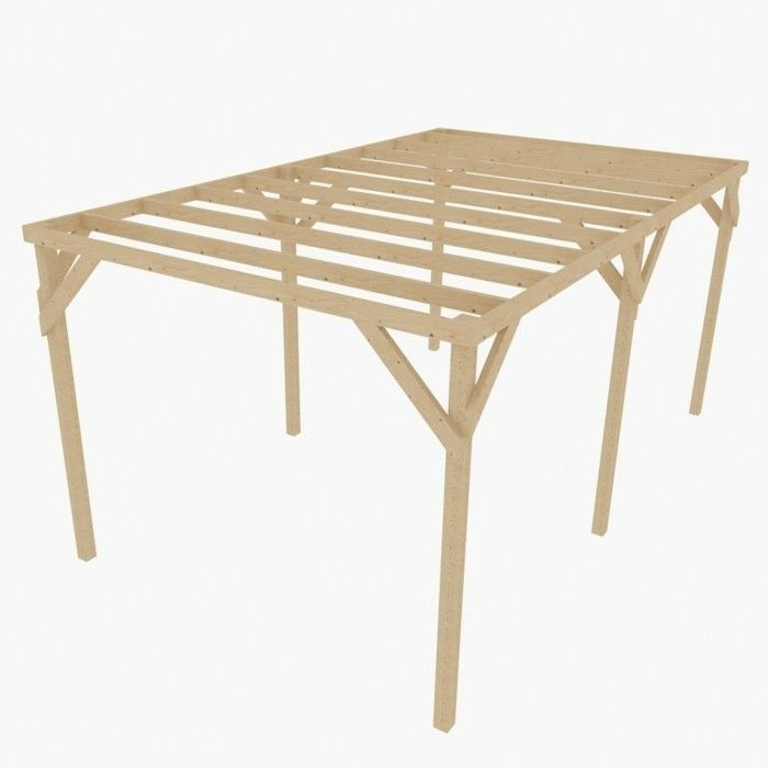 carport selber bauen mehr als 70 ideen und bauanleitungen einrichtungsideen. Black Bedroom Furniture Sets. Home Design Ideas