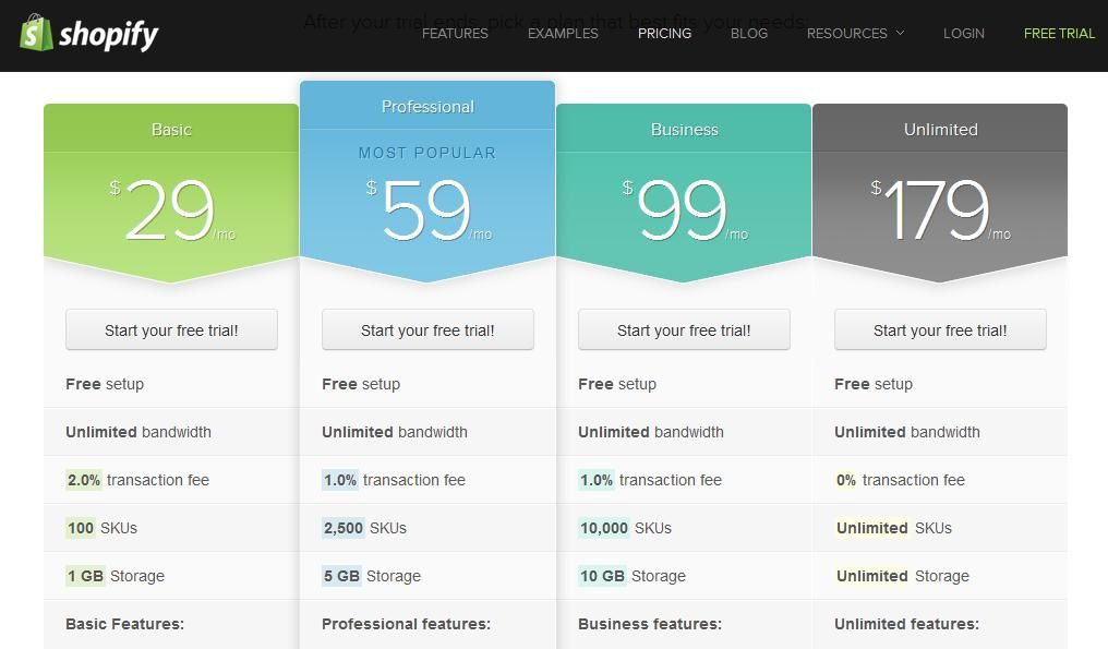 30 Great Pricing Table Designs | Web Design Inspiration ...