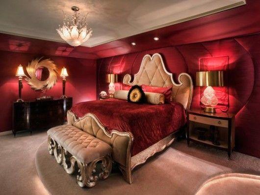 Standard Furniture The Classy Home Romantic Bedroom Design Red Master Bedroom Red Bedroom Design