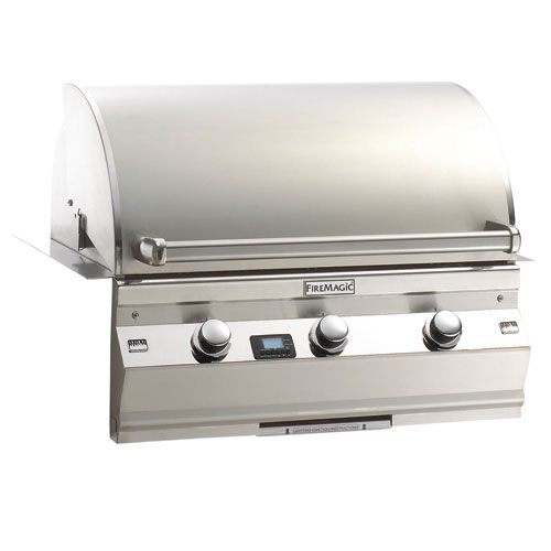 """Aurora Collection A540i1e1n 32"""" Built-in Gas Grill - Natural Gas"""