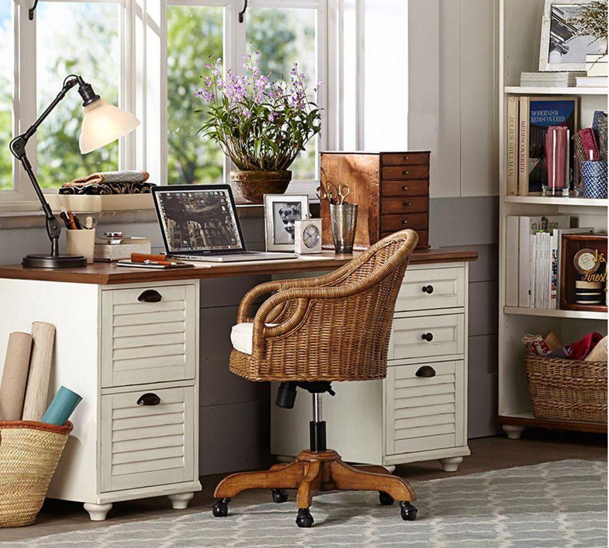 Whitney Rectangular Desk Pottery barn desk, Dining room