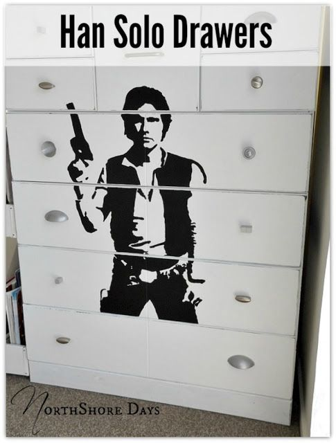 NorthShore Days Han Solo Drawers #TriplePFeature All About