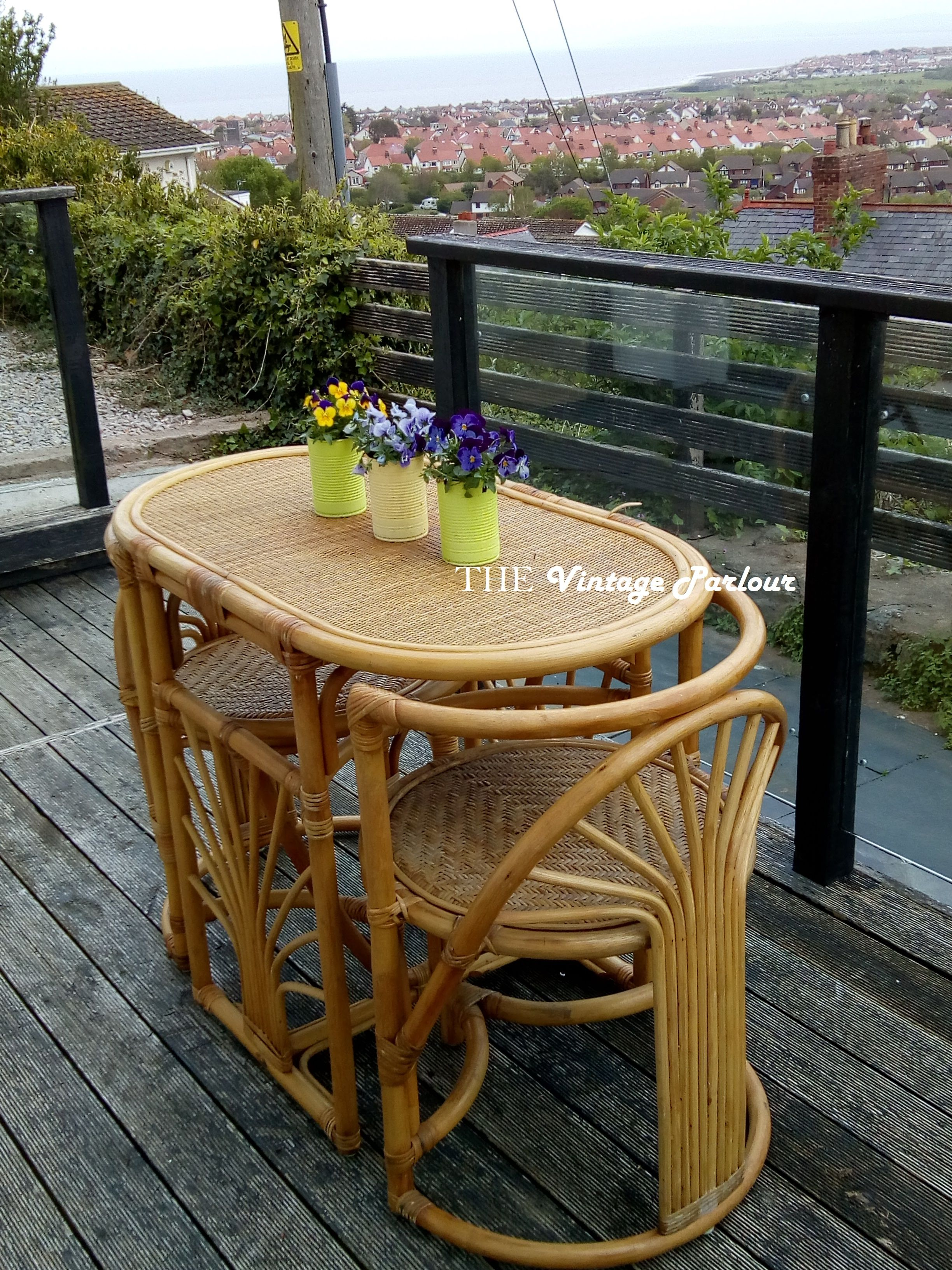 Bamboo Wicker Table Chairs Honeymoon Set Wicker Table And Chairs Wicker Table Small Table And Chairs