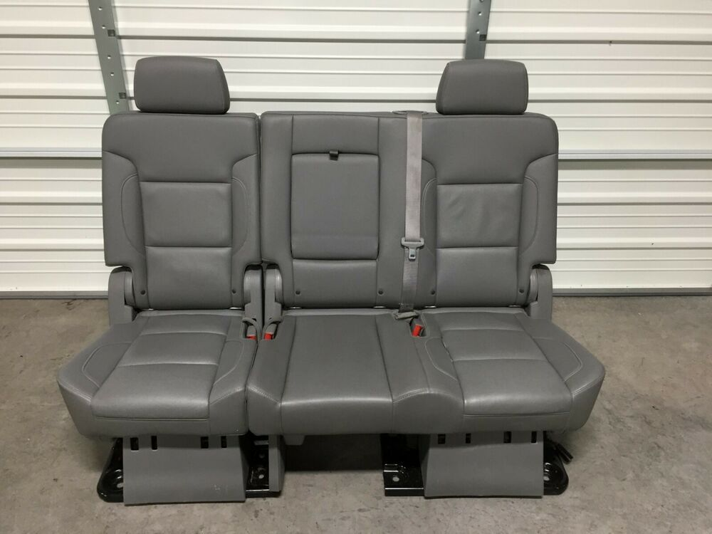 Amazing Ad Ebay 2007 2018 Suburban Escalade Esv Yukon Xl 2Nd Row Squirreltailoven Fun Painted Chair Ideas Images Squirreltailovenorg