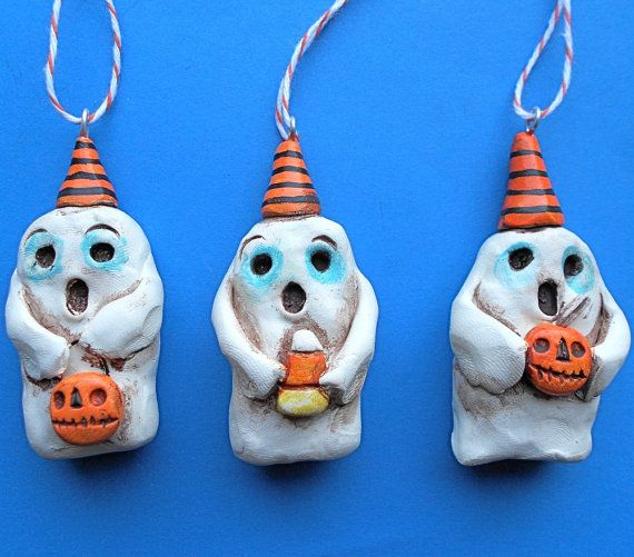Ghosts Ornaments, to go with future A Nightmare Before Christmas