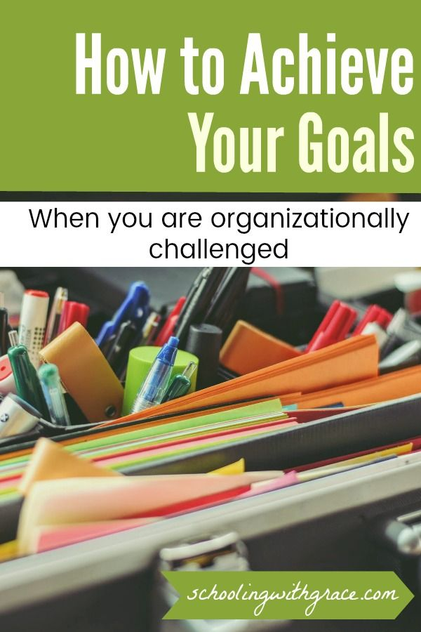 Are you looking to have a more organized life? Achieve your dreams and your goals through an organized system that sets you up for success.