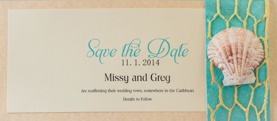 Under The Sea Save The Date