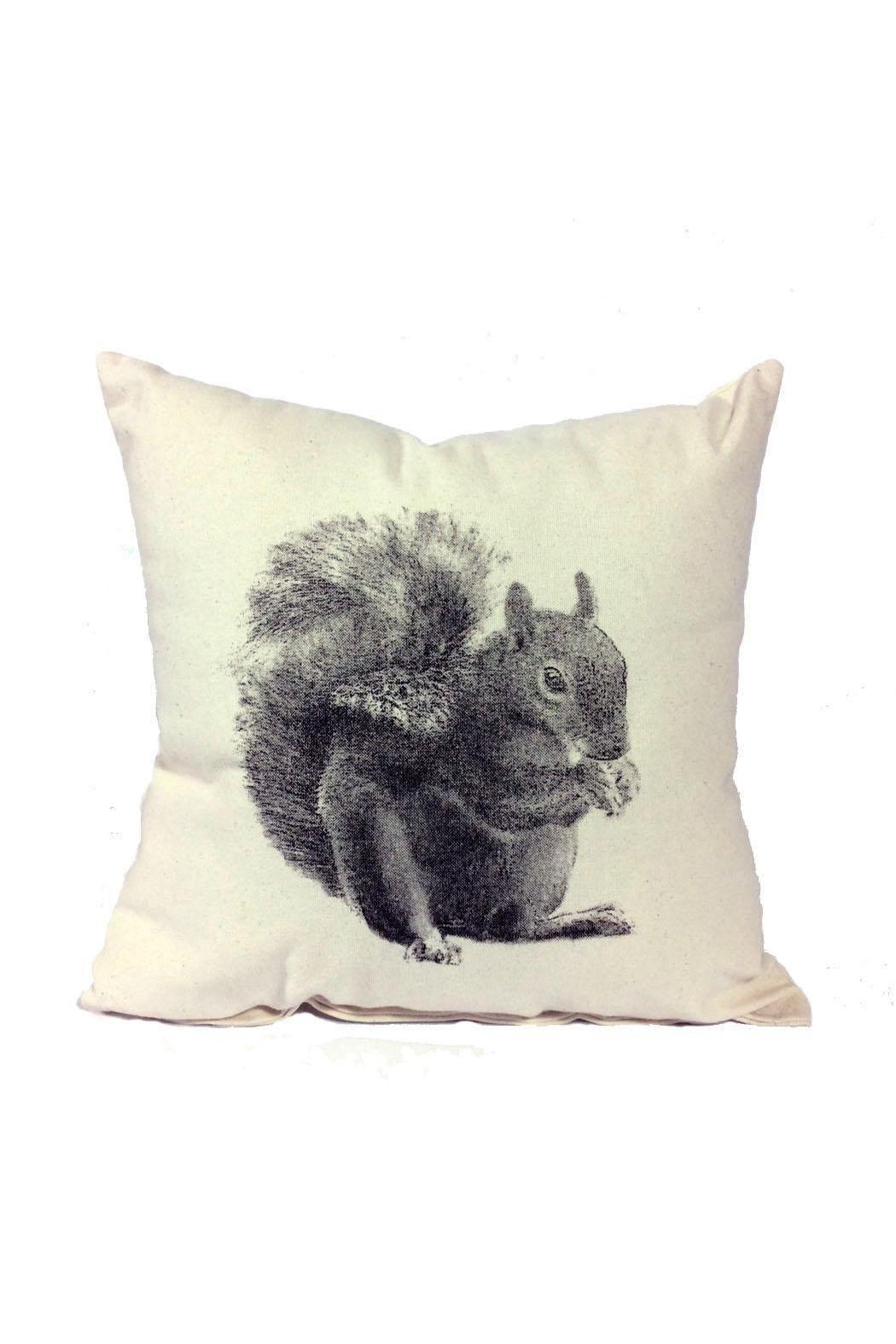 Squirrel Pillow Medium Pillows Squirrel Throw Pillows