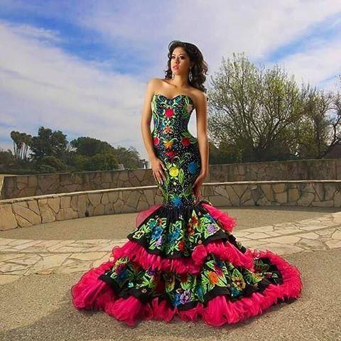 dbc06b66c9675 Vestido de Boda – Charro Azteca