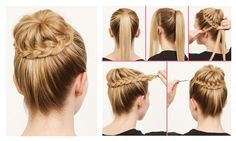 HAIRSTYLES STEP BY STEP - Buscar con Google