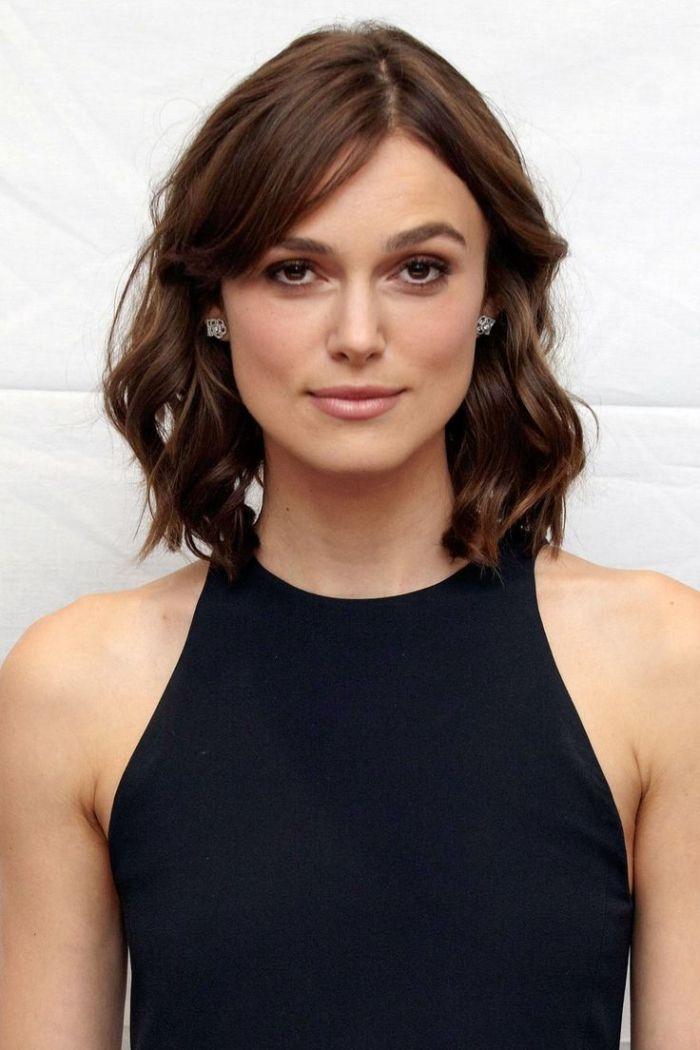 Die Besten Frisuren Für Eine Eckige Gesichtsform Pinterest Easy
