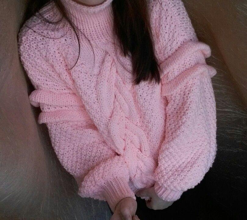 715f3fcff83e Роскошный свитер оверсайз. Выполнен из пряжи с шерсти мериноса в ...