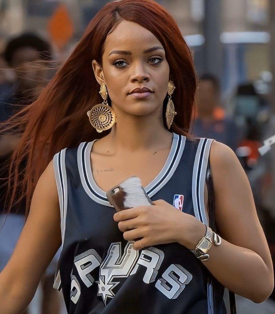 on in 2020 | Rihanna red hair, Rihanna looks, Rihanna