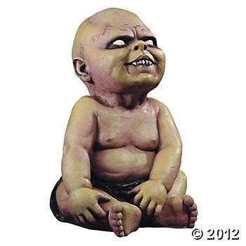 Zombie Baby Decor Halloween Pinterest