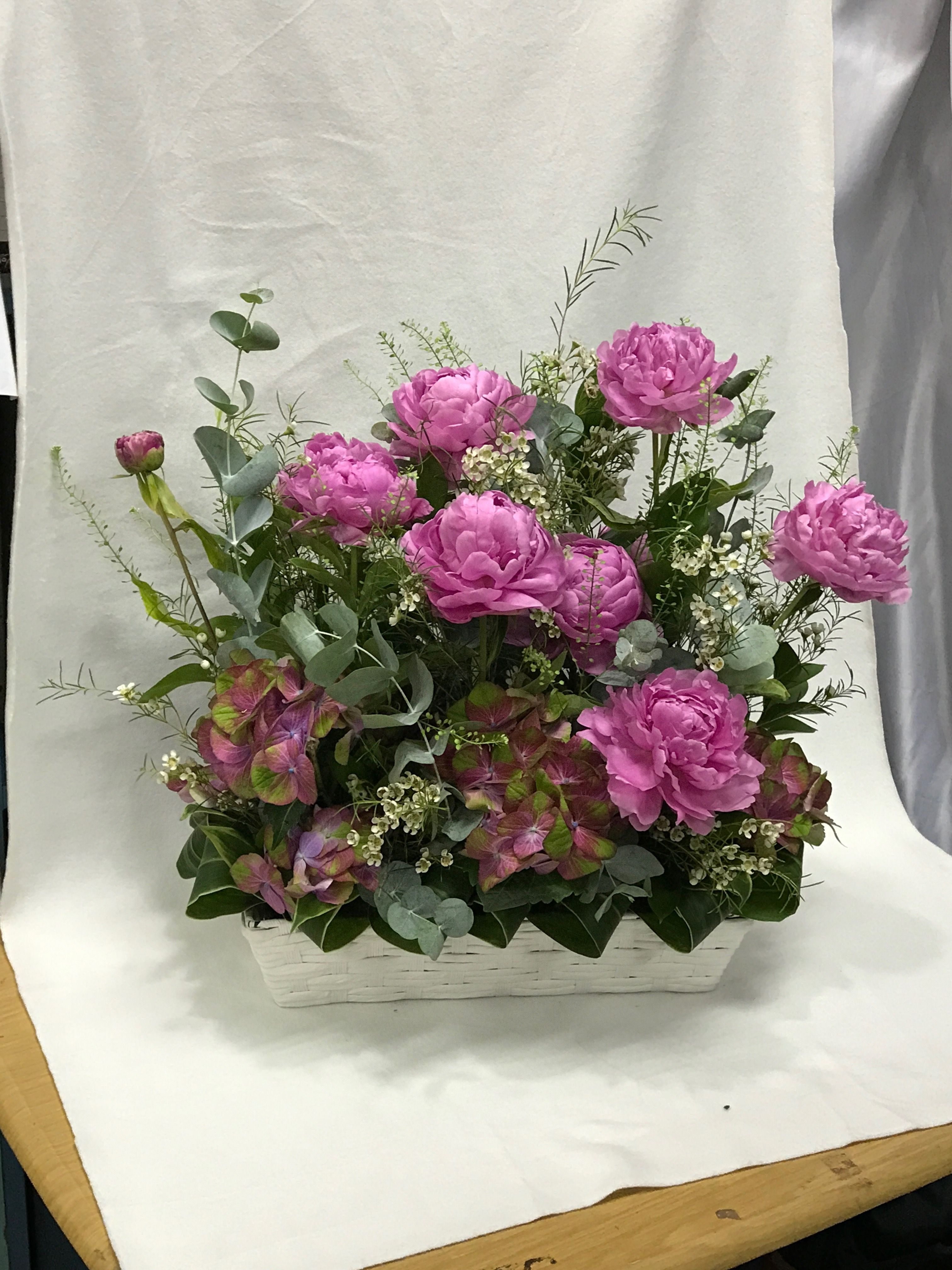 Beautiful Peony Happy Holiday Flowershop Onlineflorist