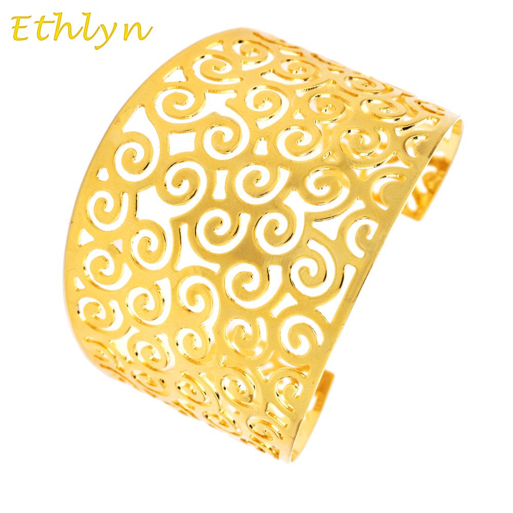 Ethlyn ethiopiannigeria dubai gold jewelry gold plated inverted