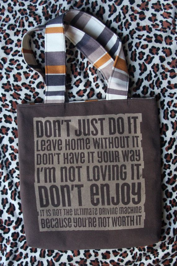 ANI DIFRANCO  Upcycled Rock Band Tshirt Tote Bag OoAK by evilrose, $28.50.  (Im doing this with my old band shirts)