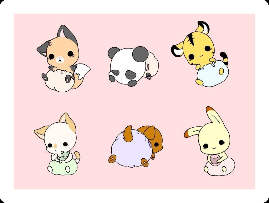 Chibi Characters Photo Chibi Animals Chibi Cat Chibi Characters Cute Anime Character