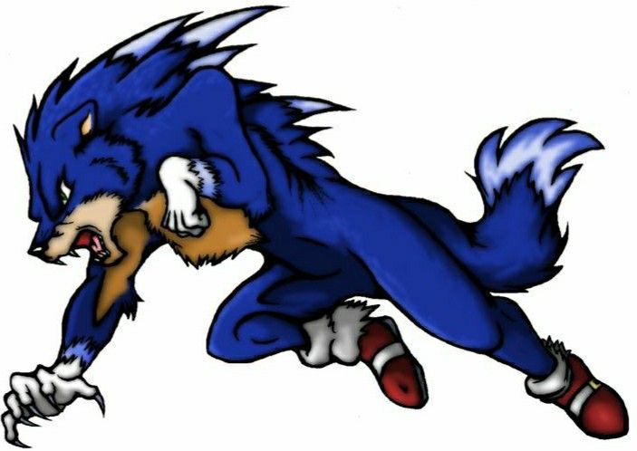 Sonic (The Werewolf) in 2020 (With images) | Sonic ...