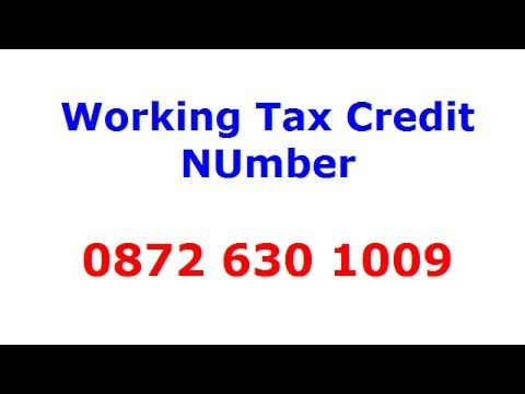 The Best Working Tax Credit Number This Was The Best Support
