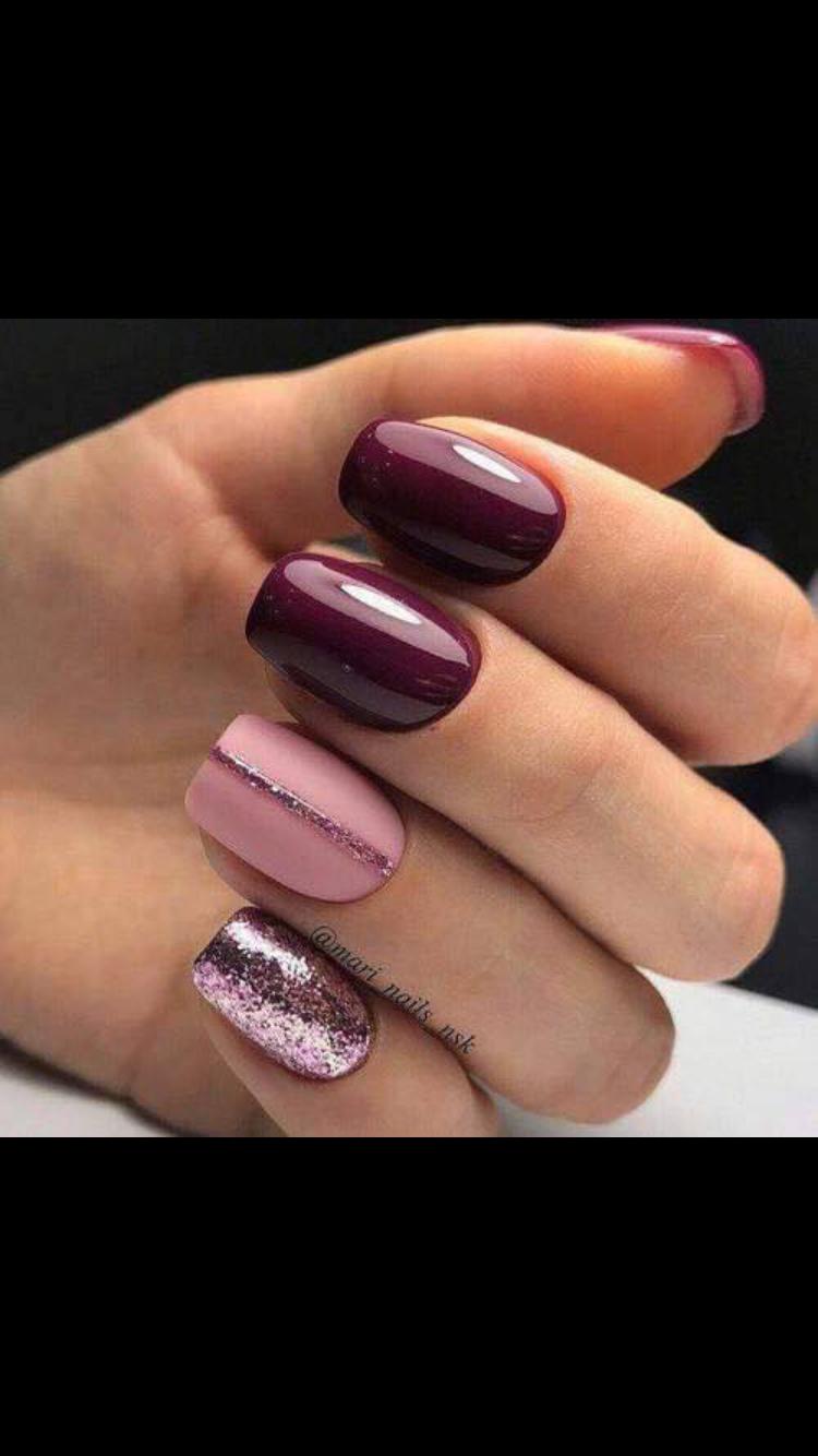 pin de lr nails en guindas vino en 2018 pinterest n gel nageldesign y nagelkunst. Black Bedroom Furniture Sets. Home Design Ideas