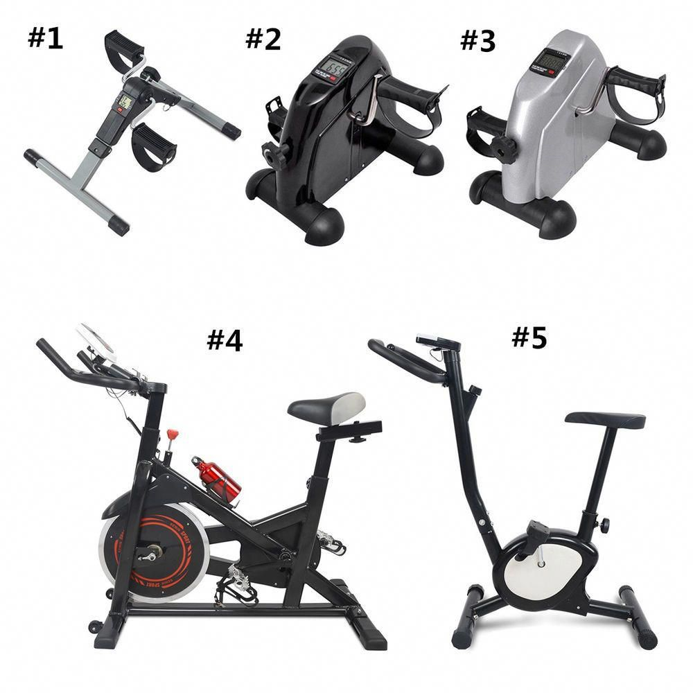 Stationary Bike Pedal Exercise Machine Fitness Digital Exerciser Leg Arm Gym Ebay Link Exercisemachi Biking Workout No Equipment Workout Mini Exercise Bike