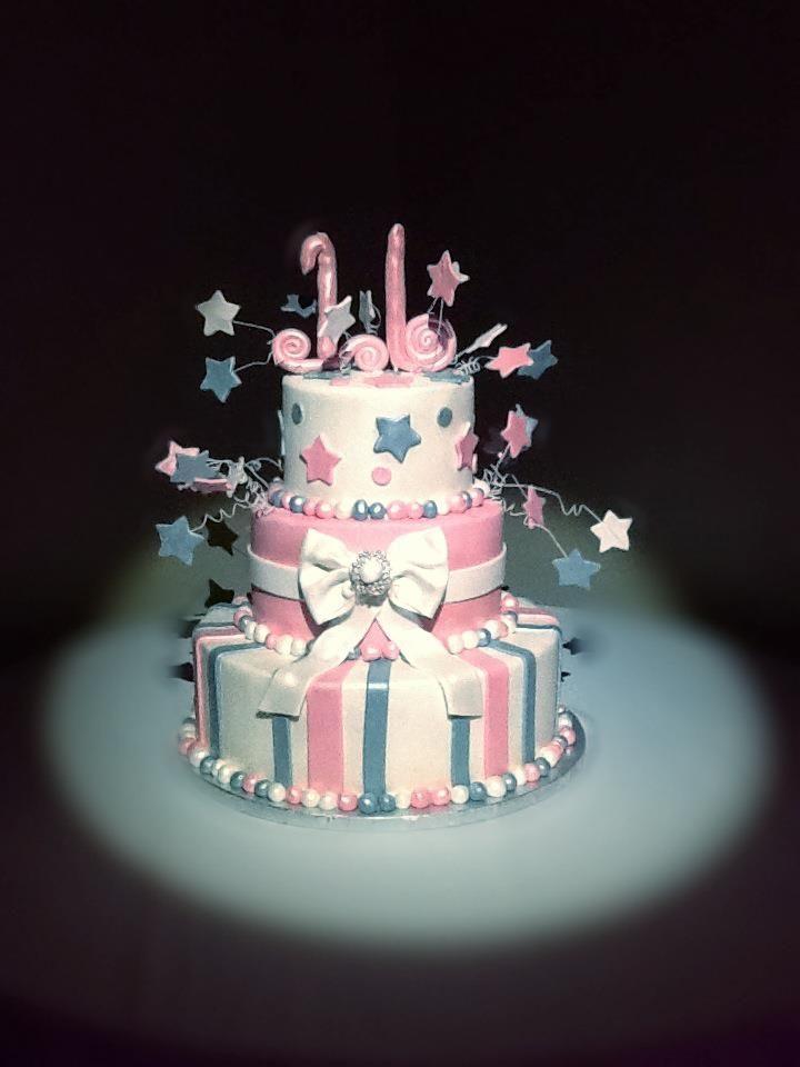 Fine Birthday Cake Sweet Sixteen Party Tulsa Oklahoma Sweet Sixteen Personalised Birthday Cards Veneteletsinfo