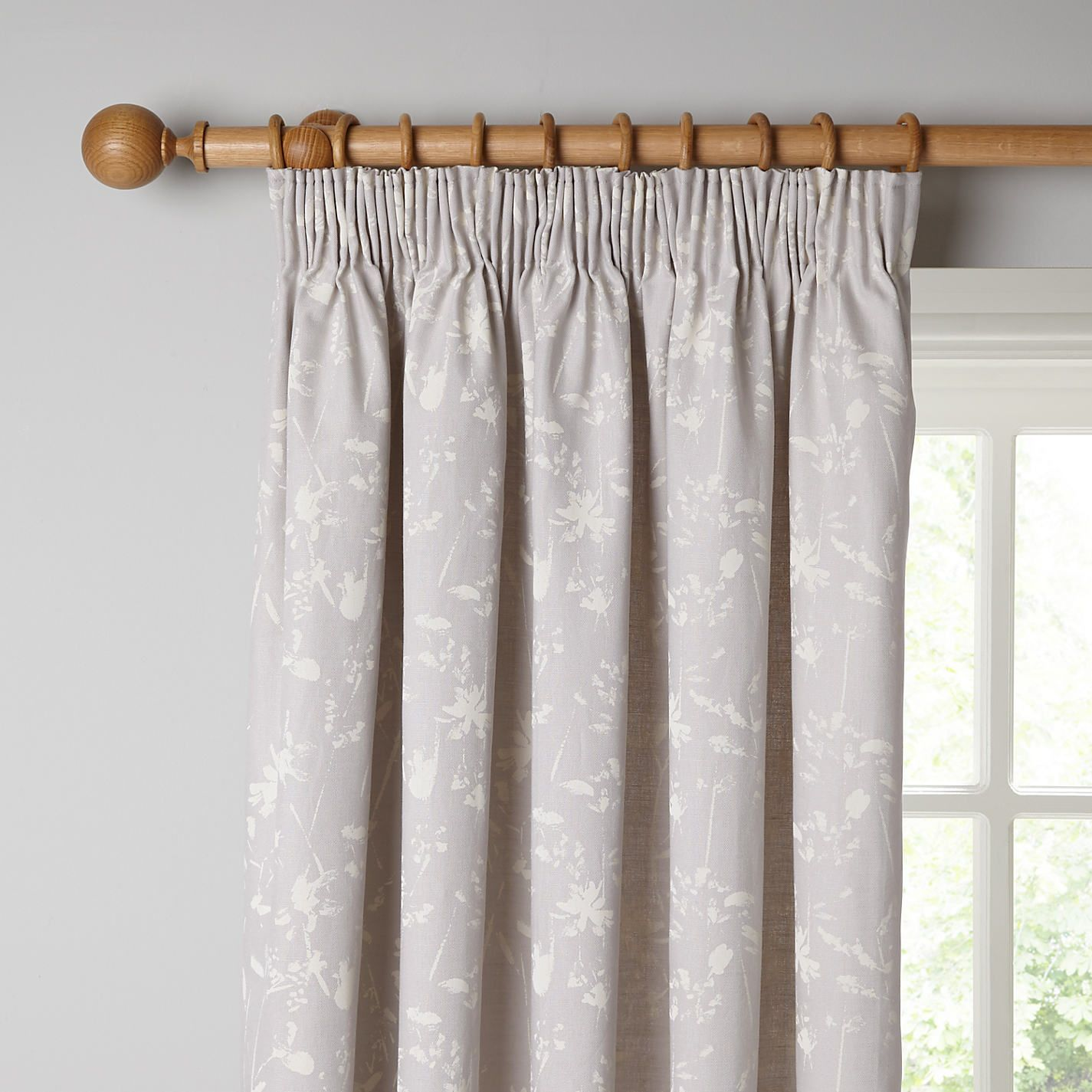 Buy John Lewis Croft Collection Freya Lined Pencil Pleat Curtains  Grey  from our View all. Gloss Single Mirrored Bathroom Cabinet  Small   Tassels  Nice and