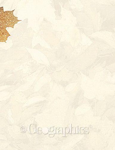 Crushed Leaves Design Paper, 8.5x11, 100/PK